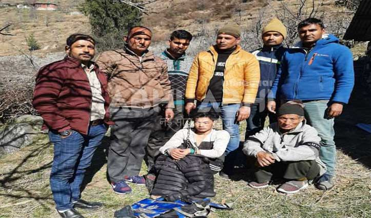 ब्रेकिंग: Mandi Police की कस्टडी से भागे नेपाली को जगतसुख में दबोचा