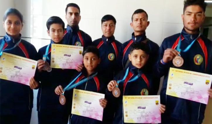 राष्ट्रीय वोविनाम प्रतियोगिता में छाए Himachal के खिलाड़ी ,झटके सात पदक