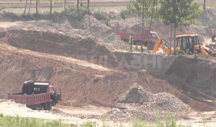 मंडी: Illegal Mining पर बड़ी कार्रवाई, पुलिस ने पकड़े 27 वाहन-3 लाख जुर्माना वसूला