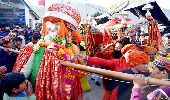 Shivratri Festival : अब पड्डल से मंदिर तक वापस भी पहुंचेगी राज माधो राय की पालकी