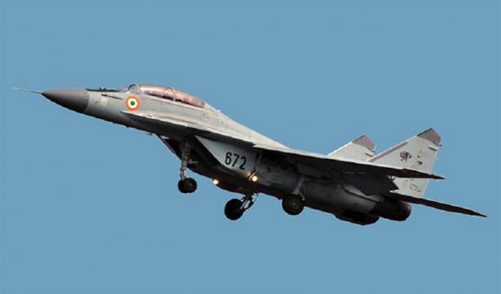 Indian Navy का मिग-29-के एयरक्राफ्ट गोवा में क्रैश, पायलट सुरक्षित