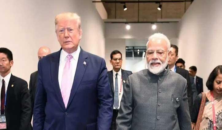 Trump के दौरे से पहले RSS की चेतावनी- US से ना मंगाएं 'नॉनवेज दूध'