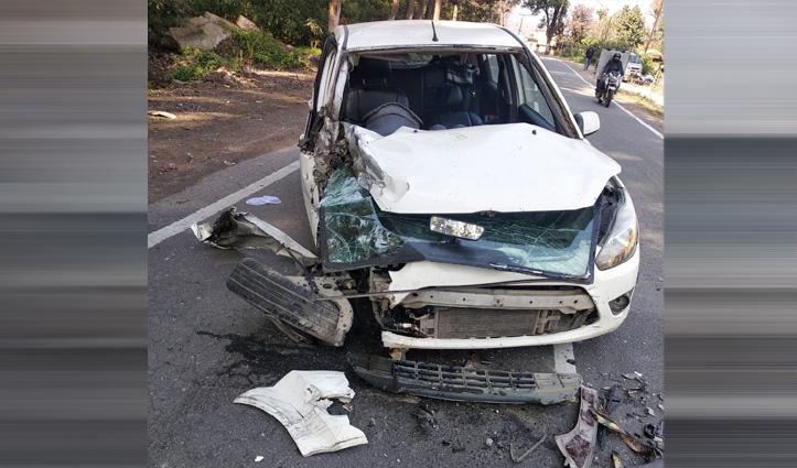 कार-पिकअप की टक्कर में Punjab के व्यक्ति की गई जान, दो घायल