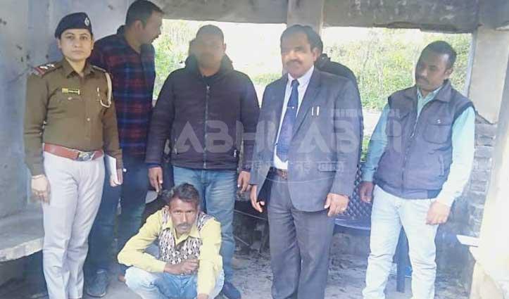 Nahan के विक्रमबाग में चरस के साथ एक युवक गिरफ्तार
