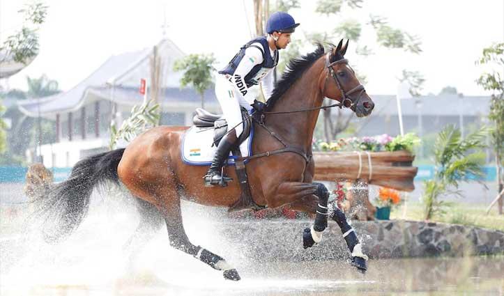 Olympics में 'आजाद कश्मीर' नाम का घोड़ा दौड़ाएगा पाक घुड़सवार