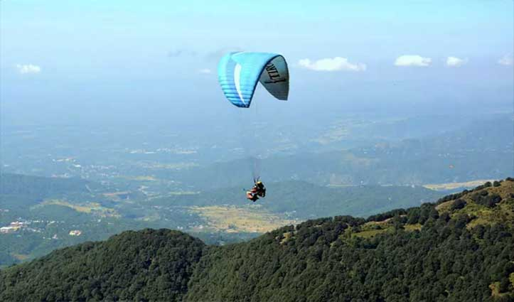 बिग ब्रेकिंगः लैंडिंग करते गोविंद सागर झील में गिरा Paraglider, चली गई जान