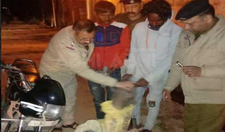 कालाअंब में तांबा चोरी करते Haryana के दो युवक गिरफ्तार