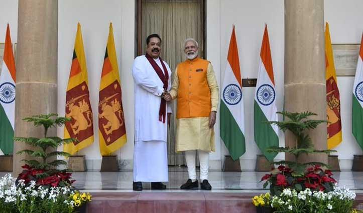 श्रीलंकाई PM से मुलाक़ात के बाद बोले Modi – 'दोनों देशों ने डटकर किया आतंक का मुकाबला'