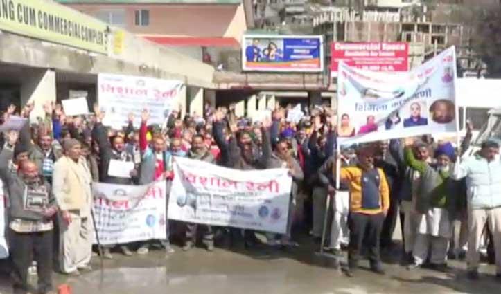 आर-पार की लड़ाई लड़ने को तैयार चकौता धारक, Shimla में बोला हल्ला