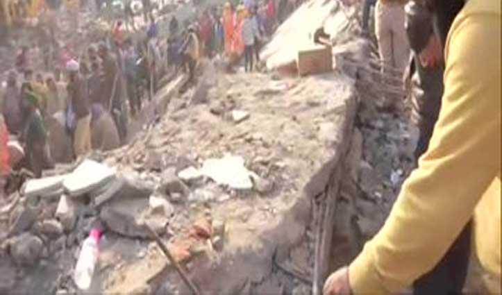 Mohali : तीन मंजिला इमारत गिरी, कई लोगों के दबे होने की आशंका