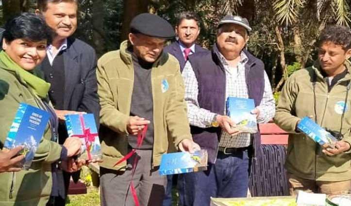 Punjab के राज्यपाल ने परिवार संग निहारी Pong Lake और रेंसर गढ़ी टापू की सुंदरता