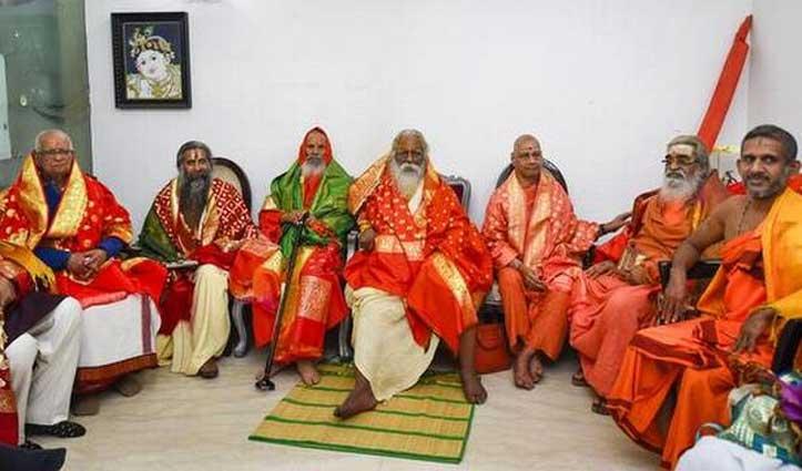 राम मंदिर ट्रस्ट के अध्यक्ष बने महंत नृत्यगोपाल दास, VHP नेता चंपत राय को मिला महासचिव का दायित्व
