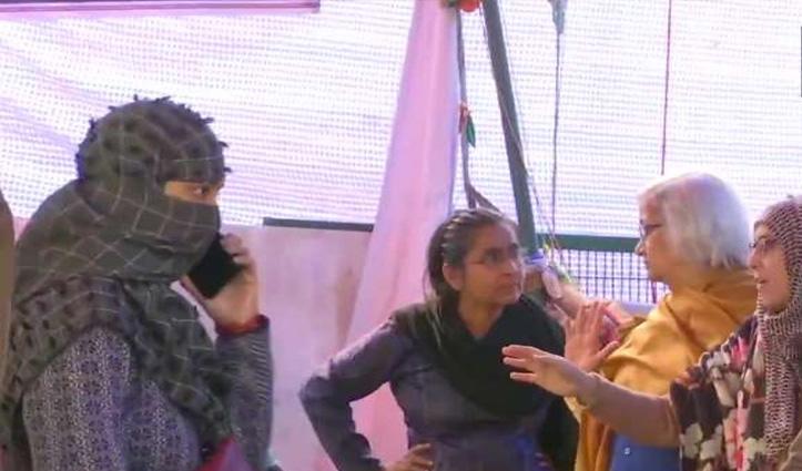 Shaheen Bagh: चौथे दिन भी नहीं निकला कोई निष्कर्ष, बातचीत कर वापस लौटीं साधना रामचंद्रन