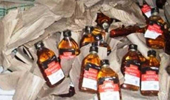 घालूवाल और देहलां में पुलिस ने अवैध शराब के साथ दबोचे दो