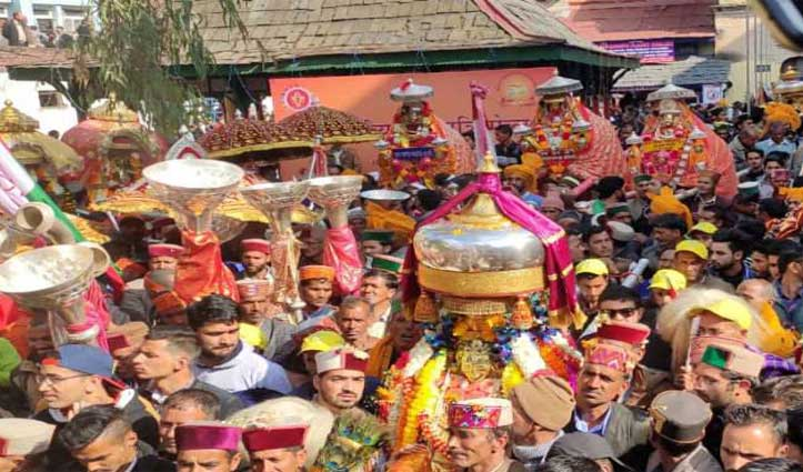 shivaratri Festival : सार्वजनिक भोज के दौरान खाने से जबरन उठाया, हिरासत में दो लोग
