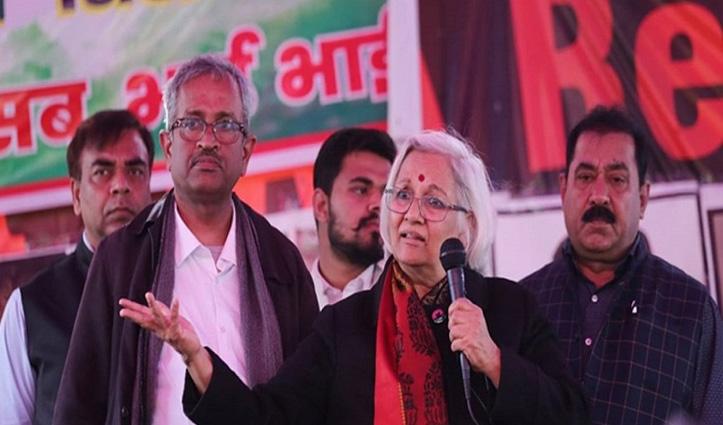 बातचीत की एक और कोशिश, लगातार चौथे दिन Shaheen Bagh पहुंची साधना रामचंद्रन
