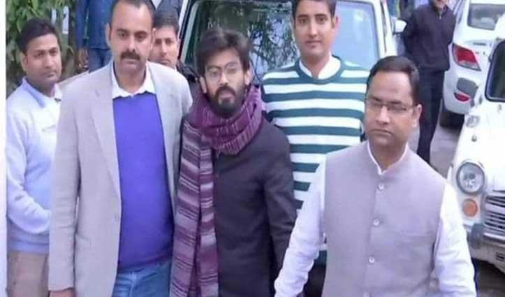 देशद्रोह के आरोपी शरजील इमाम को जामिया हिंसा मामले में दोबारा Arrest किया गया