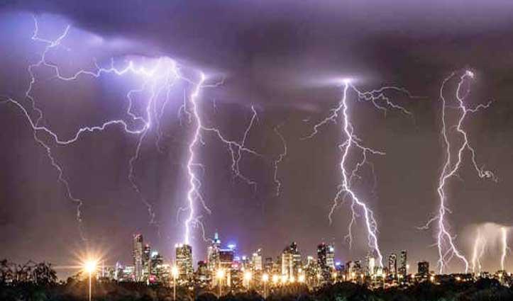 मौसम: चार दिन होगी बारिश-बर्फबारी, गरजेगी बिजली, आठ जिलों में Yellow Alert जारी