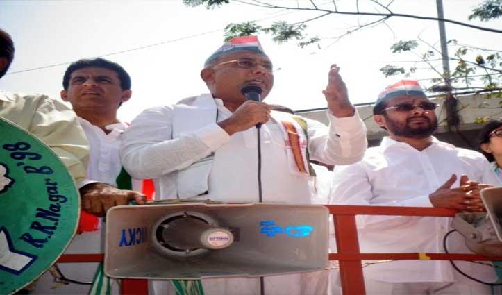 बिदर राजद्रोह मामले के खिलाफ मार्च निकाल रहे पूर्व CM सिद्धारमैया को हिरासत में लिया गया