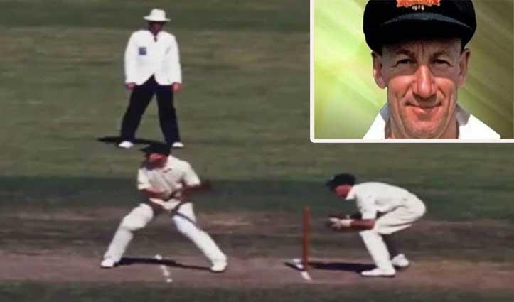 71 साल बाद सामने आया सर डॉन ब्रैडमैन की बल्लेबाजी का इकलौता कलर Video, यहां देखें