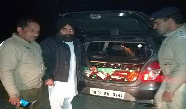 राजगढ़ में दंपति, कालाअंब में चार लोगों से शराब बरामद