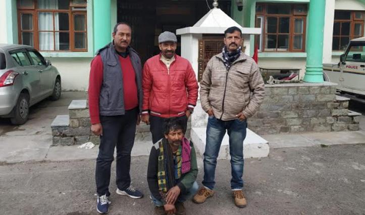 घर के आंगन में मारपीट कर भागे आरोपी को Solan Police ने धरा