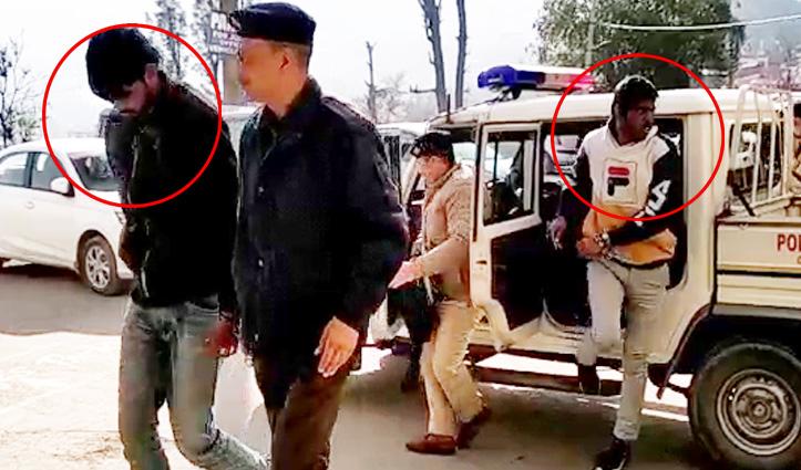सोलन में व्यापारी की गाड़ी पर Attack करने के दो आरोपी धरे, Remand पर भेजे