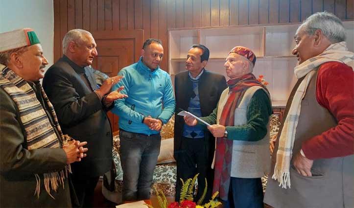 बीजेपी के चुनावी वादे की अनदेखी पर Sofat की मौजूदगी में Shanta से गुहार