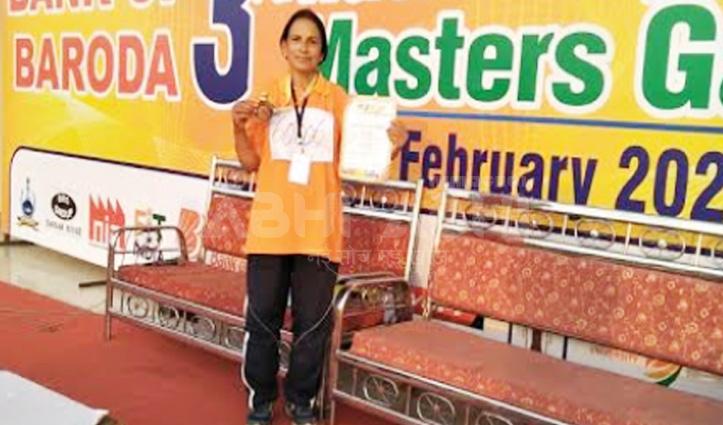 राष्ट्रीय स्तरीय मास्टर गेम्स में Solan की महिलाओं ने जीते Medal