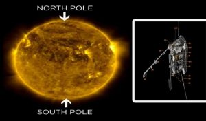 सूर्य के ध्रुवों की सबसे पहली तस्वीरें लेने के लिए लॉन्च हुआ अंतरिक्षयान