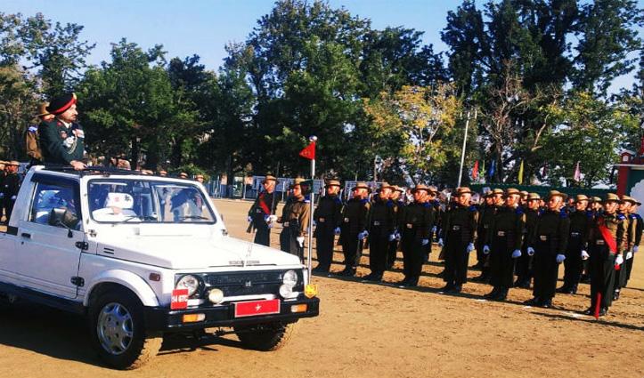 14 गोरखा ट्रेनिंग सेंटर सुबाथू में कोर्स 125 के जवानों ने ली देश सेवा की शपथ