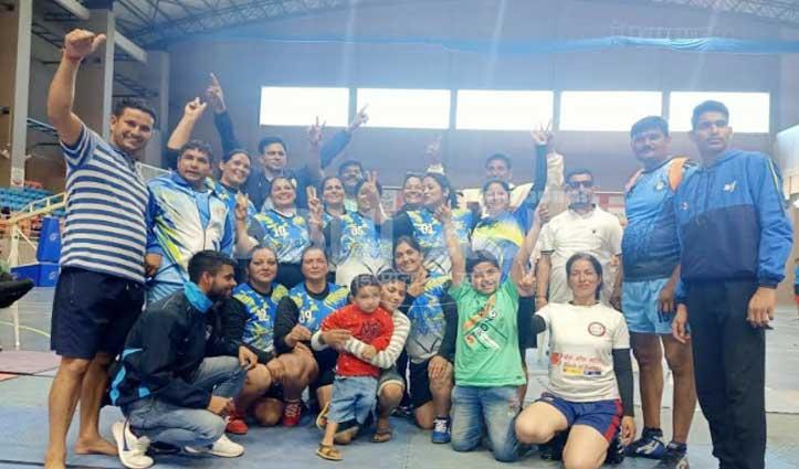 National Championship में हिमाचल की बेटियों ने बजाया डंका, कबड्डी में जीता Gold