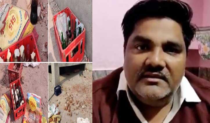 AAP पार्षद ताहिर हुसैन के घर से बरामद हुआ हिंसा का सामान, BJP ने पूछा- अब क्यों चुप है Congress