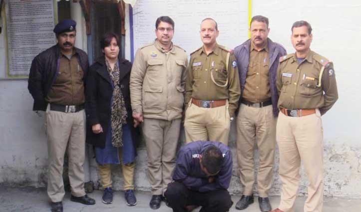 चोरी मामले में Police के हत्थे चढ़ा आरोपी, दिवाली की रात का है मामला
