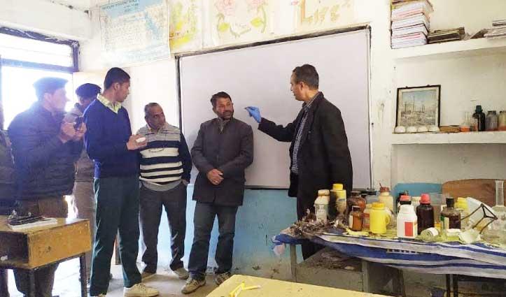 Chemistry Lab Blast मामले में जुन्गा से पहुंची फॉरेंसिक टीम, जुटाए साक्ष्य