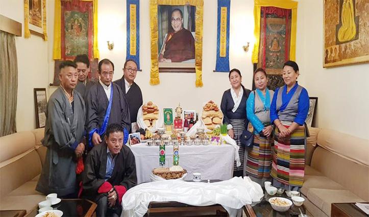 Tibetans in exile pray at Macleodganj, celebrate New Year Losar