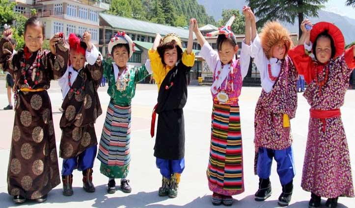 शरणार्थी तिब्बती  बच्चों के लिए  Haryana ने दिखाया बड़ा दिल,मैक्लोडगंज ने सराहा
