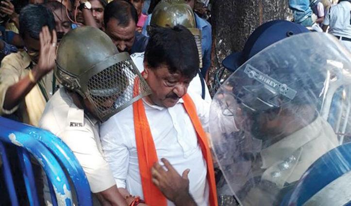 CAA के समर्थन में रैली निकाल रहे BJP नेता कैलाश विजयवर्गीय हिरासत में