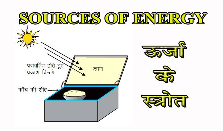 विज्ञान विषयः अध्याय-14 … ऊर्जा के स्त्रोत