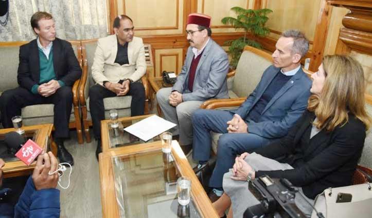 ऑस्ट्रेलियाई शिक्षाविदों ने Himachal में इस क्षेत्र में निवेश की जताई इच्छा, CM से मुलाकात