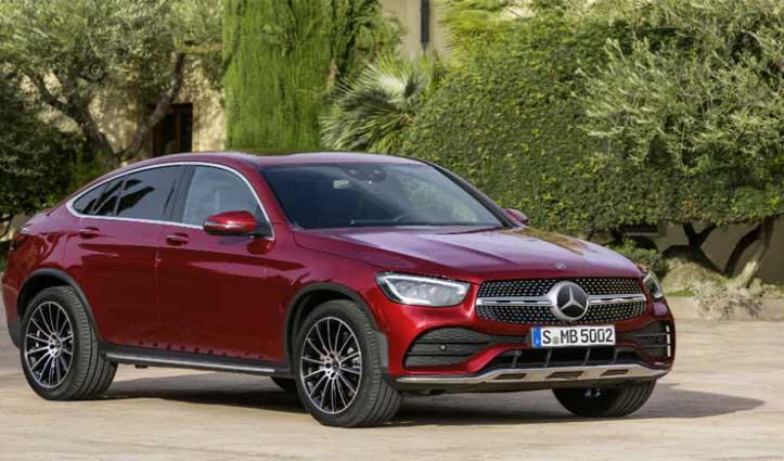 भारत में बनी Mercedes-Benz GLC Coupe लॉन्च, जानें फीचर्स