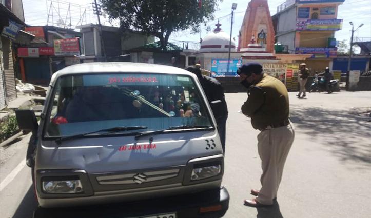 Himachal Lockdown होते ही सड़कों पर कुछ ऐसा दिखा, देखें Live तस्वीरें