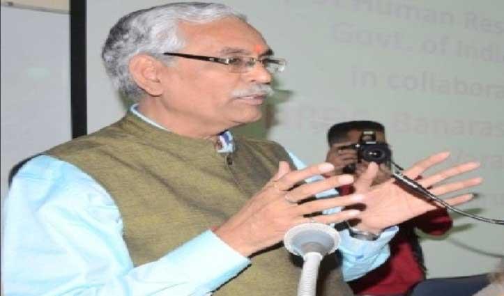 CUHP के प्रोफेसर बलदेव भाई शर्मा बने छत्तीसगढ़ में VC, कल होंगे रवाना
