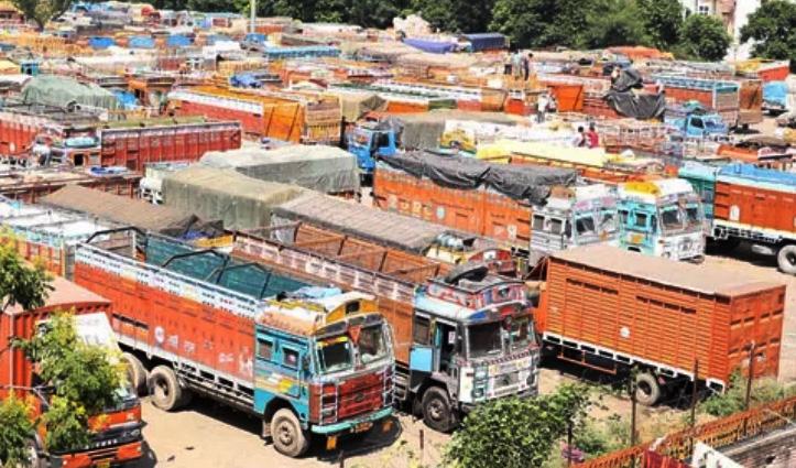 एशिया की सबसे बड़ी Truck Union BDTS ने अनिश्चितकाल तक बंद किया सीमेंट ढुलाई का काम