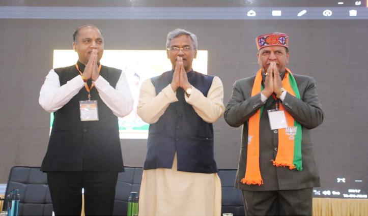 BJP कार्यसमिति की बैठक के दूसरे दिन का नजारा, तस्वीरों में देखें