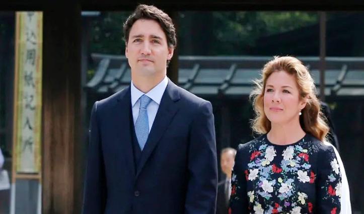 Canada के पीएम की पत्नी Coronavirus की चपेट में, 14 दिन तक ट्रूडो भी आइसोलेशन में