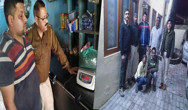 कालाअंब में 1.286 किलोग्राम गांजा, माजरा में पकड़ी चरस; तीन हुए Arrest