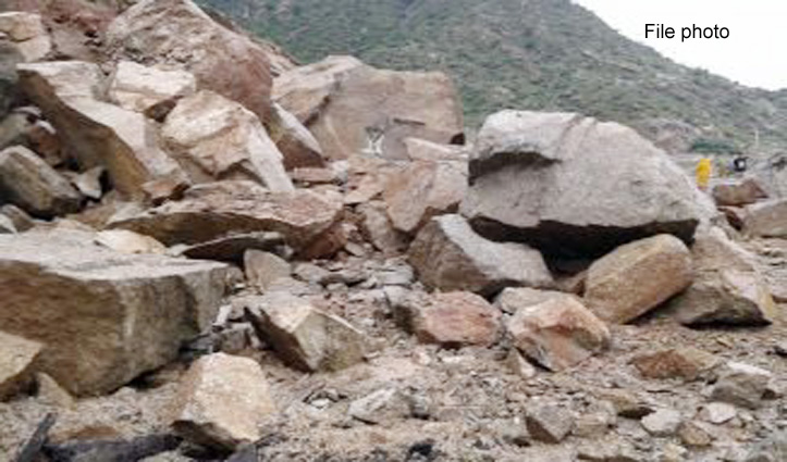 चांजू-2 परियोजना में हादसा : चट्टान गिरने से 3 मजदूर दबे, एक की गई जान