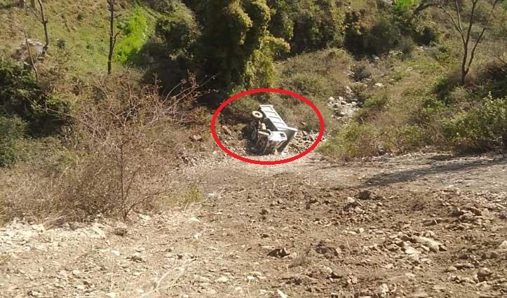 चुवाड़ी में सुबह-सवेरे 2 Accident,ढांक से गिर कर मजदूर की गई जान