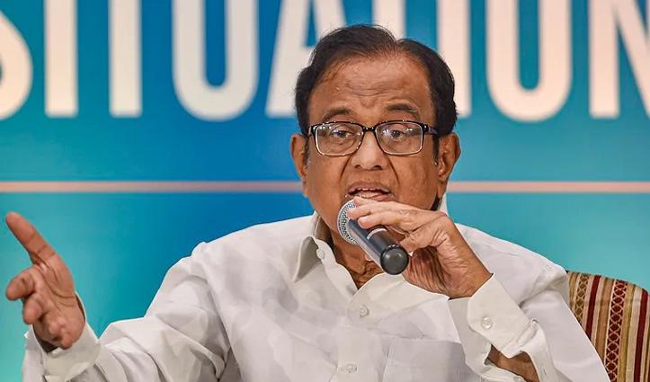 YesBank की आड़ में चिदंबरम ने BJP पर साधा निशाना, कहा- SBI करे टेकओवर